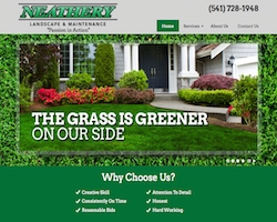 Neathery Landscaping Website